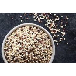 Organic tri coloured  quinoa